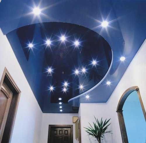 Сколько стоит сделать двухуровневый натяжной потолок?