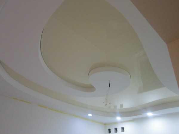 Наши работы: Натяжные потолки Самара