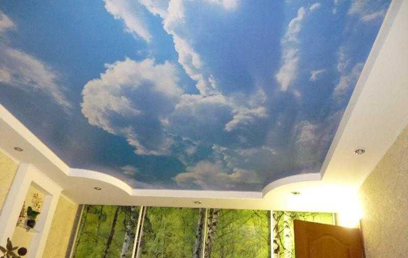 Наши работы: Натяжные потолки Колтуши