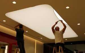 Как подготовить комнату к установке натяжного потолка?