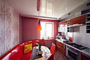 Какой потолок сделать на кухне СПб?