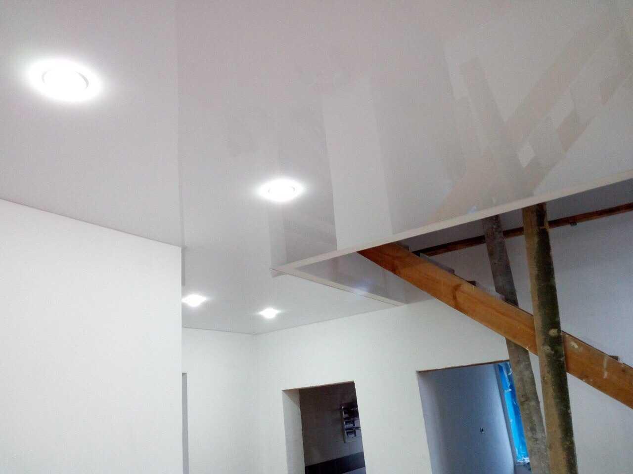 Как установить натяжной потолок?