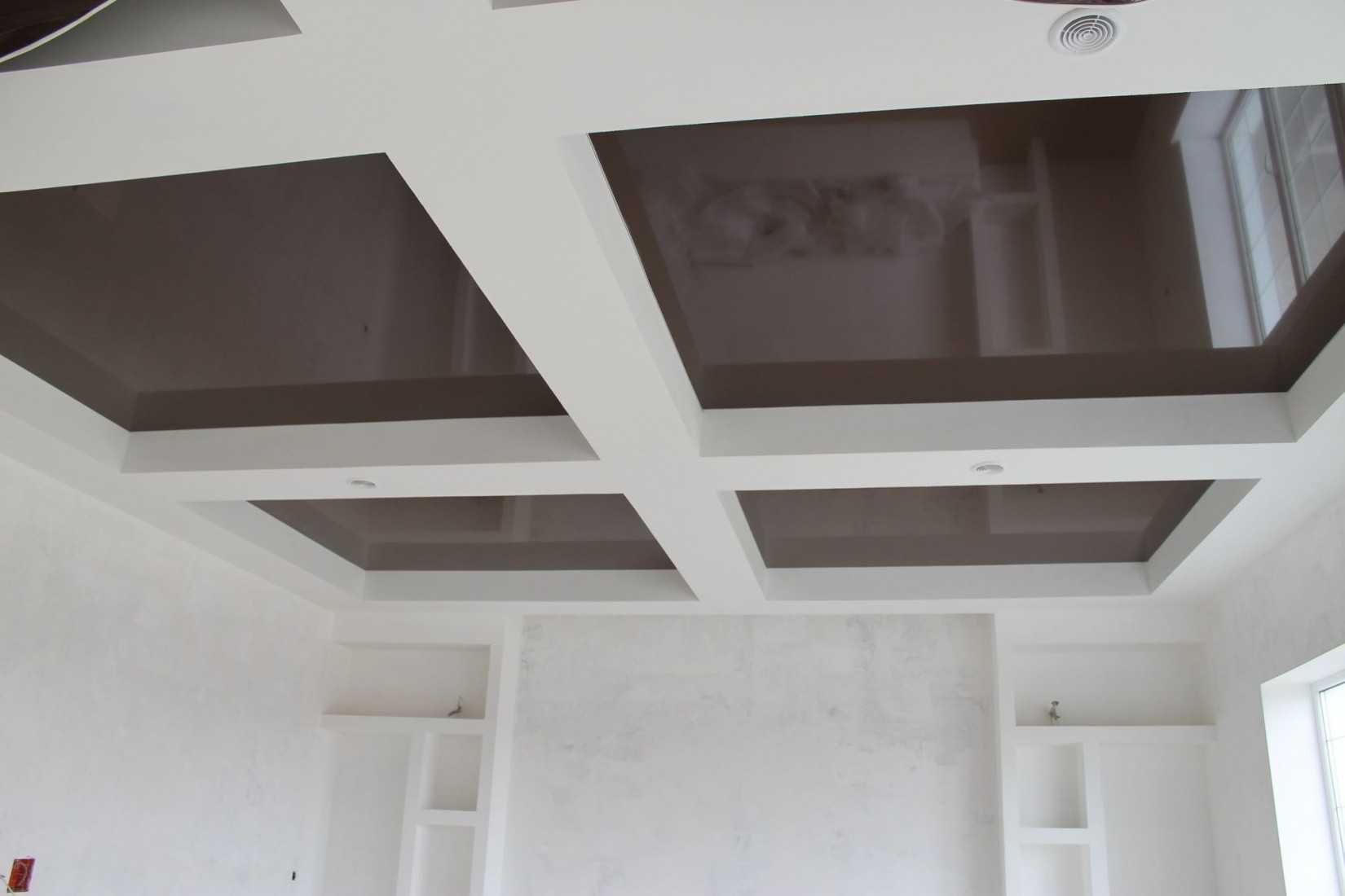 Наши работы: Натяжные потолки в Петергофе