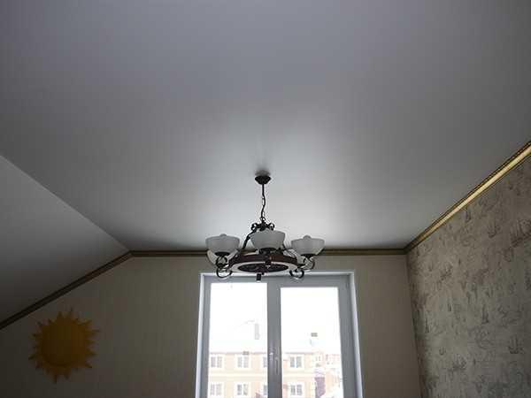 Наши работы: Натяжные потолки в Павловске