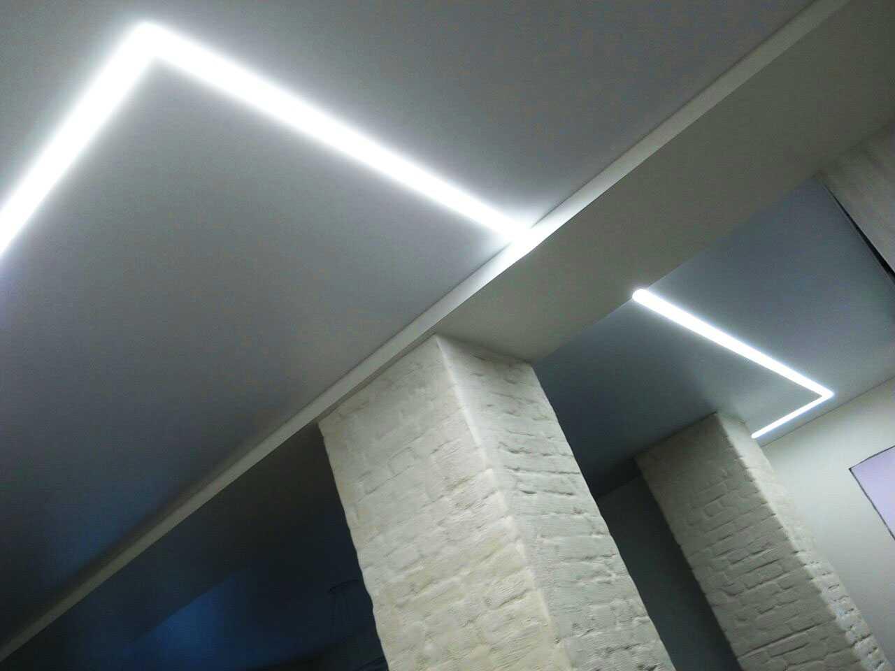 Наши работы: Натяжные потолки Курск