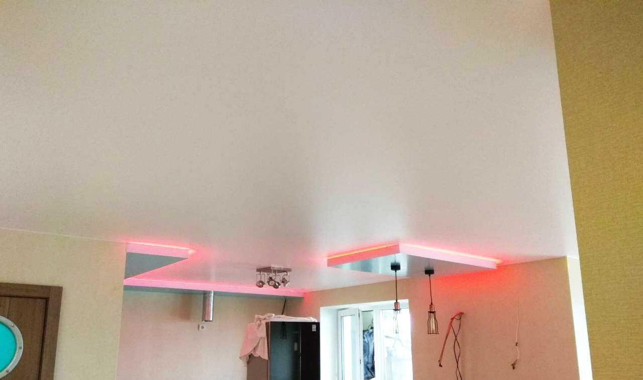 Наши работы: Натяжные потолки в Красном Селе