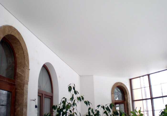 Наши работы: Натяжные потолки в Колпино