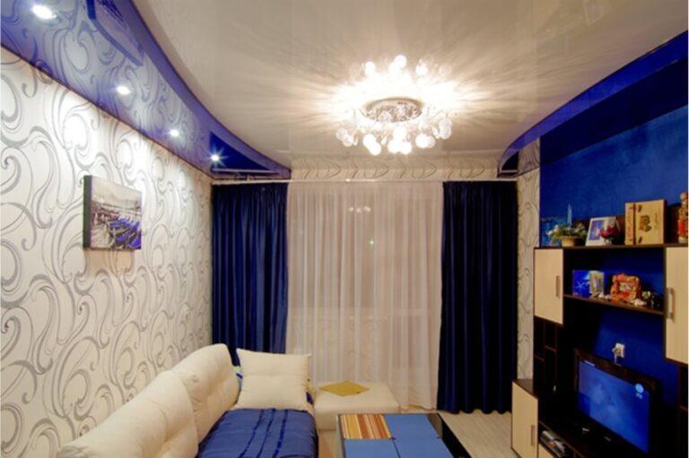 Натяжные потолки в гостиную Санкт-Петербург (СПб)