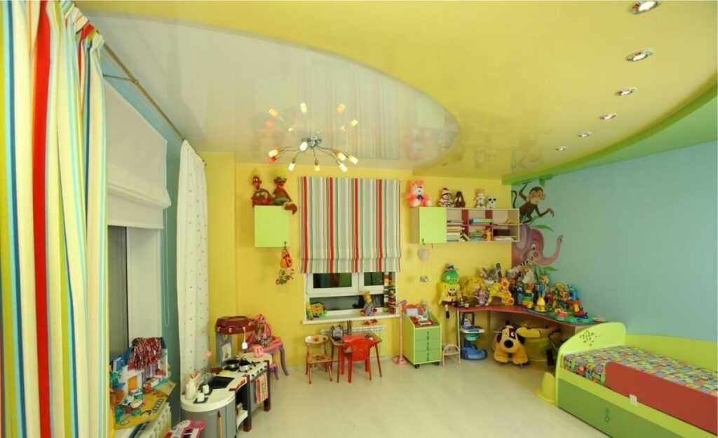 Натяжные потолки в детскую Санкт-Петербург (СПб)