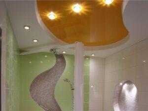 Натяжные потолки в ванную в Минске