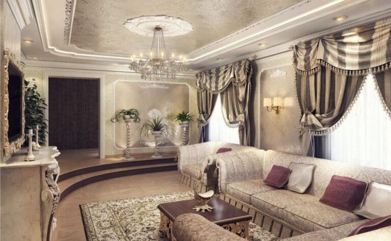 Ремонт в гостиной в Санкт-Петербурге