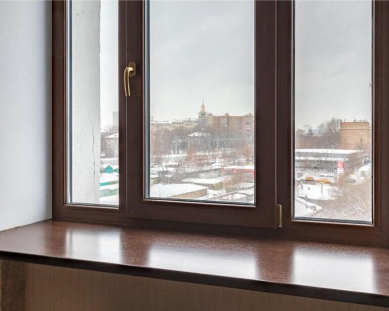 Ламинированные ПВХ окна в Санкт-Петербурге
