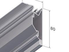 Профиль (багет) алюминиевый для натяжного потолка в Дзержинске