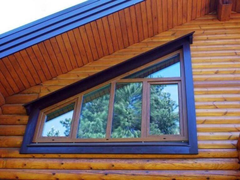 Окна сложной или неправильной формы в Санкт-Петербурге