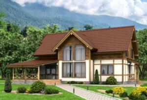 """Проект дома """"Лесной"""""""