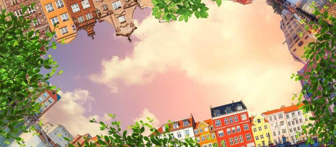 Город и закат3