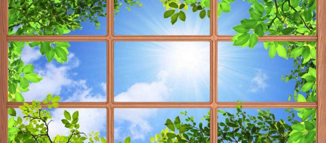 небо и окно3