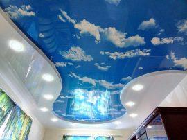 Двухуровневые натяжные потолки в Санкт-Петербурге
